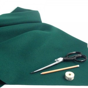 Green Baize Fabric