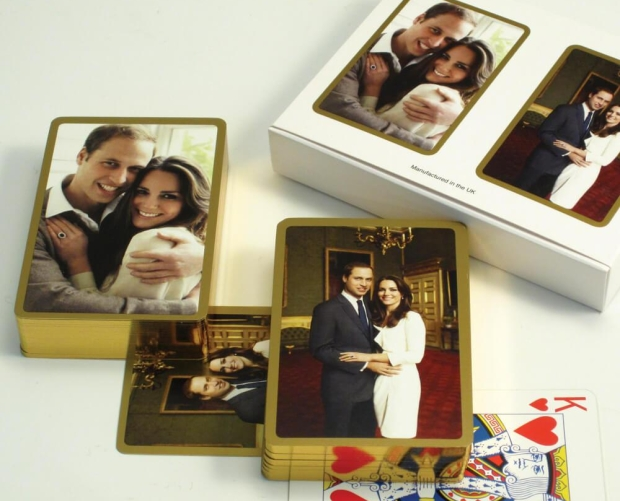 Collectable William and Kate Royal Playing Cards